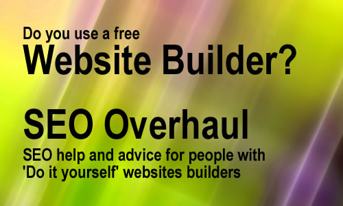 Site builder website audit and search engine optimisation service
