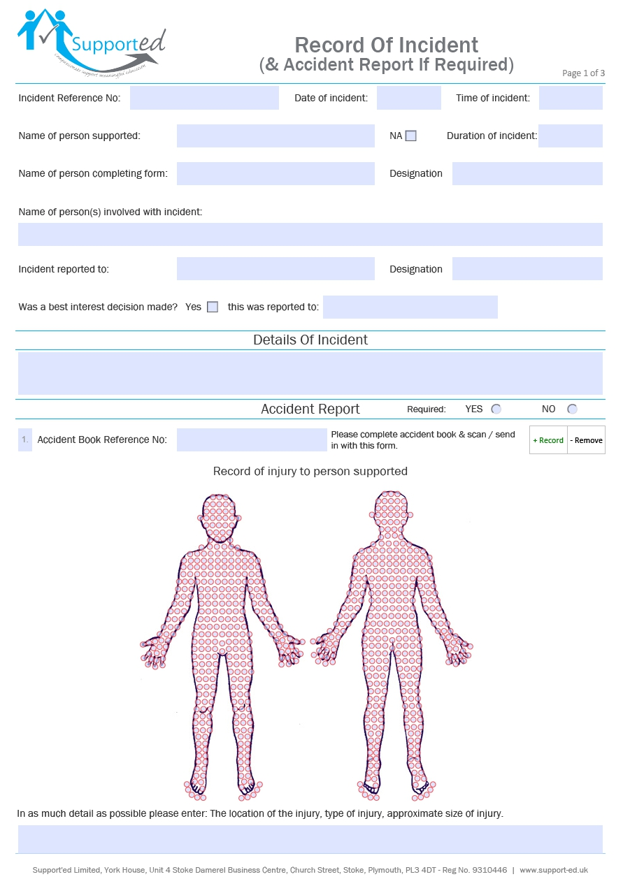 Medical Assessment PDF Forms