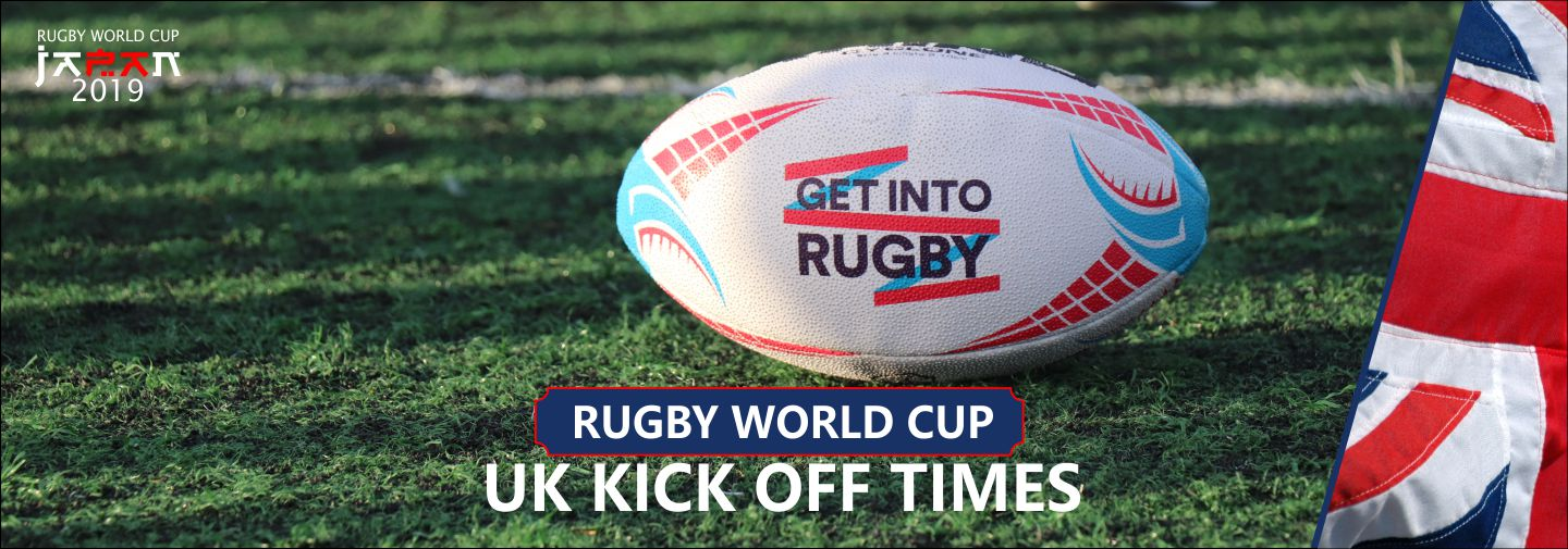 Rugby World Cup 2019 Kick Off Times