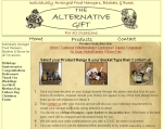 The Alternative Gift - Click to load site in new browser