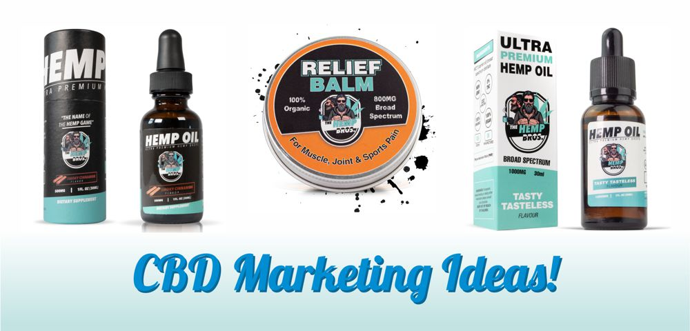 CBD Marketing Ideas for Hemp Brands and Companies